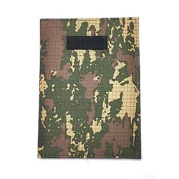 Askeri Kamuflaj Defter A5 (14,5x20 Cm) 120 Sayfa Kalemlikli