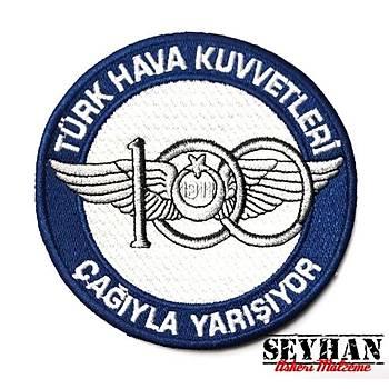 HAVA KUVVETLERÝ 100. YIL PEÇ - Arma - Askeri Patch