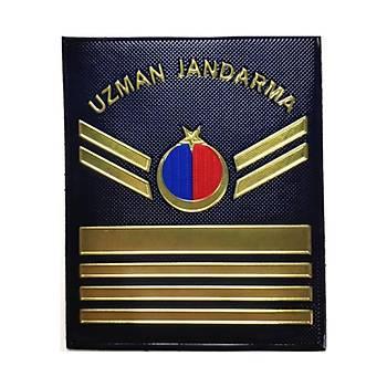 Uzman Jandarma 4-5-6-7-8 Kademe Asayiþ Plastik 3d Rütbe