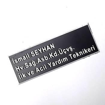 Pleksi Yaka Ýsimliði - Mýknatýslý - Saðýk Personeli Ýsimliði