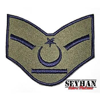 Hava Kuvvetleri Eski Kamuflaj Yedek Astsubay Rütbesi -1 Çift