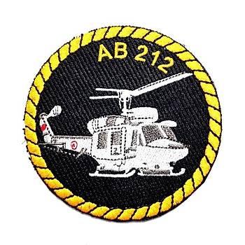 AB 212 HELÝKOPTER PEÇ - Arma - Askeri Patch