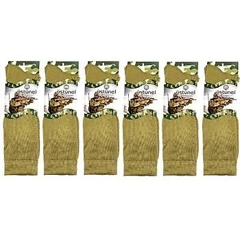 Askeri Kýþlýk Termal Çorap Nano Yeþil (6 Çift)