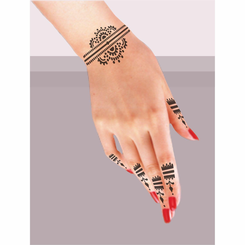 henna tattoo dovme sablonu hint kinasi dovme desenleri