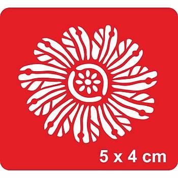 Mandala 377 Dövme Þablonu Kýna Deseni