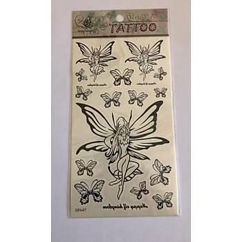 Periler Yapýþtýrma Sticker Dövme Geçici Dövme Temporary Tattoos