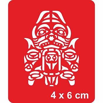 Maori Kaplan Dövme Þablonu Kýna Deseni