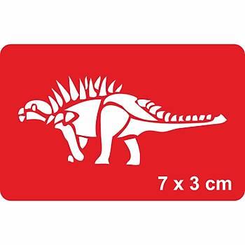 Dinazor Tuojiangosaurus Dövme Þablonu Kýna Deseni