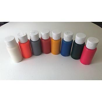 Pembe Renk Paasche Marka Airbrush Geçici Dövme Boyasý