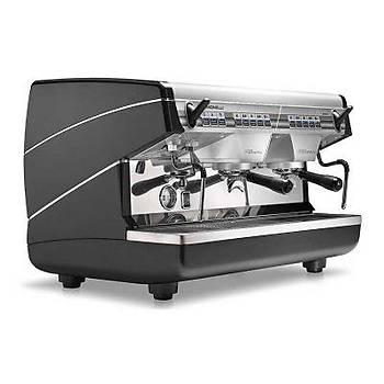 Nuova Simonelli Appia II Tall Cup Espresso Kahve Makinesi, Tam Otomatik, 2 Gruplu, Siyah