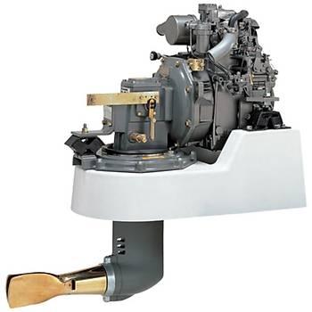 Yanmar Dizel Deniz Motoru 9 Hp Mekanik Þanzýman Yelken Kuyruklu