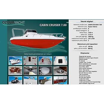 ÖZGÜR CABİN CRUISER 780