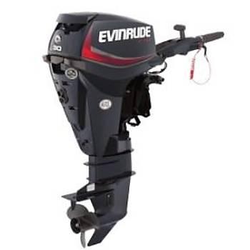 EVINRUDE E-TEC 30 HP UZUN ŞAFT MARŞLI TRİMLİ MANUEL DENİZ MOTORU-E30DTSL/DGTL