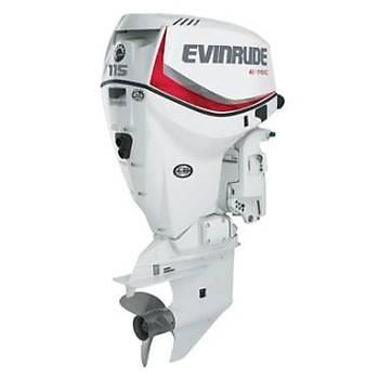 EVINRUDE E-TEC 115 HP MARŞLI TRİMLİ EXTRA UZUN ŞAFT TERS DÖNÜŞLÜ DİREKSİYON SİSTEMLİ DENİZ MOTORU-E115DCX