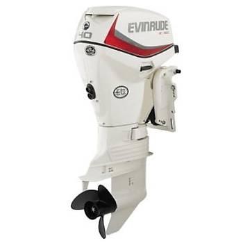 EVINRUDE E-TEC 40 HP UZUN ŞAFT MARŞLI TRİMLİ MANUEL DENİZ MOTORU-E40DGTL