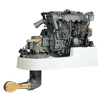 Yanmar Dizel Deniz Motoru 75 Hp Mekanik Şanzıman Yelken Kuyruklu