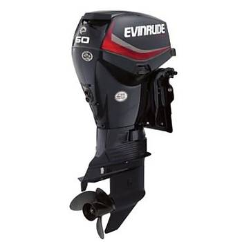 EVINRUDE E-TEC 60 HP MARŞLI TRİMLİ UZUN ŞAFT DİREKSİYON SİSTEMLİ DENİZ MOTORU-E60DSL/E60DPGL