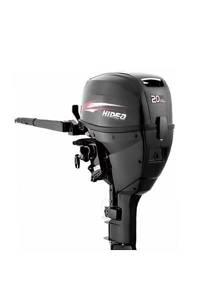 HIDEA  20  HP Uzun Þaft Manuel Deniz Motoru-HDF20HL-