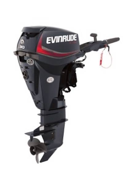 EVINRUDE E-TEC 30 HP KISA ÞAFT MANUEL DENÝZ MOTORU-E30DRS/DGR