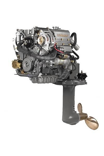Yanmar Dizel Deniz Motoru 21 Hp Mekanik Þanzýman Yelken Kuyruklu