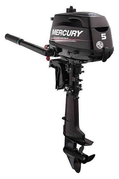 MERCURY 5 HP DENÝZ MOTORU(DÖRT ZAMANLI UZUN ÞAFT ÜSTTEN DEPOLU)-F 5 ML-