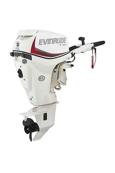 EVINRUDE E-TEC  25 HP UZUN ÞAFT MANUEL DENÝZ MOTORU-E25DRSL/E25DRGL