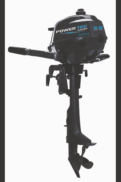 POWERTEC F 2.5 HP KISA ÞAFT DÖRT ZAMANLI DENÝZ MOTORU-F2.5 AMHS-