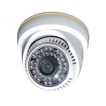 QX-6518BD 5 MP 1/2.7 SC5235 Sensor 18 SMT Led 3.6mm Lens H265+ Dome Ip Kamera