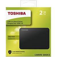 Toshiba 2.5 2TB USB 3.0 Canvio Siyah HDTB420EK3AA