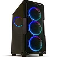 DarkFlash Aquarius-Mesh RGB Mid Tower Kasa PSU YOK
