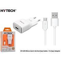 Hytech HY-X20 Micro Usb 2.1A Hýzlý Þarj + Adaptör