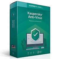 Kaspersky Antivirüs 2019 2 Kullanýcý DVD Kutu