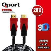 Qport Q-HDMI20 20m Hdmi Kablo