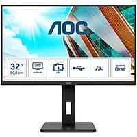 AOC 31.5 U32P2 4K LED Monitör 4ms MM Siyah