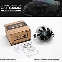 Zalman CNPS80G Ultra Sessiz 80mm CPU Soðutucu