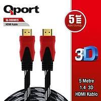 Qport Q-HDMI5 5m Hdmi Kablo