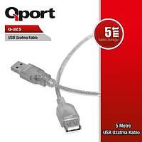 Qport  Q-UZ5 5 Metre Power Uzatma Kablosu