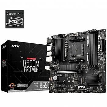 MSI B550M PRO-VDH DDR4 S+V+GL AM4 (mATX)