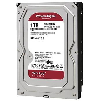 WD RED 3,5 1TB 64MB 5400RPM WD10EFRX