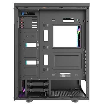 DarkFlash Phantom RGB Mid Tower Kasa PSU YOK