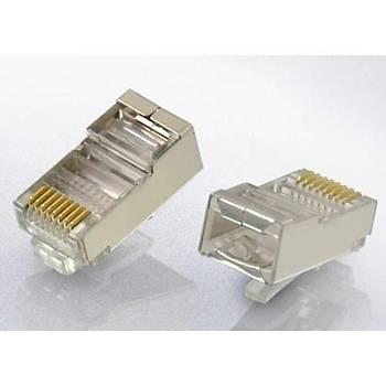 S-Link SL-M66 RJ45 Cat6 Metal Konnektör