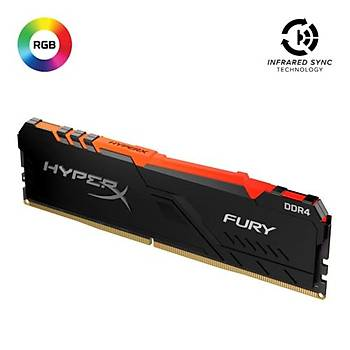 Kingston-HyprX 8GB FryRGB 3200MHz  HX432C16FB3A/8