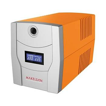 MAKELSAN LION X 1500VA LCD/USB (2x 9AH)  5-10dk