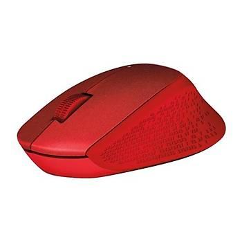 Logitech M330 Silent Mouse Kýrmýzý 910-004911