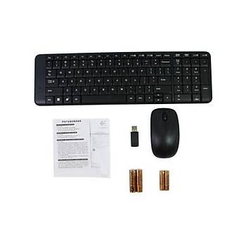 Logitech MK220 Kablosuz Klavye Mouse 920-003163
