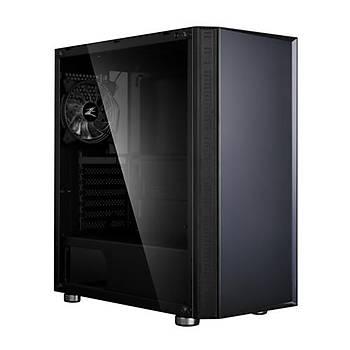Zalman R2 BLACK Mid Tower RGB Kasa Siyah PSU YOK