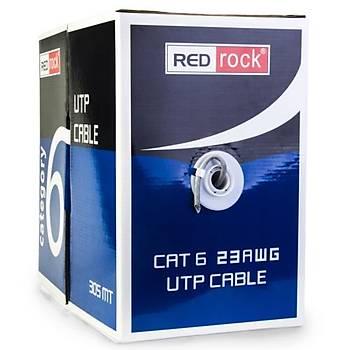 Redrock CAT6 23AWG UTP Kablo 0.57mm 305m Kablo