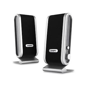 Snopy SN-820 1+1 Speaker Siyah/Gümüþ USB