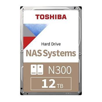 Toshiba 3,5 N300 12TB 256MB 7200RPM HDWG21CUZSVA