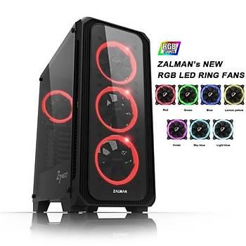 Zalman Z7 NEO 600W Mid Tower RGB Kasa Siyah